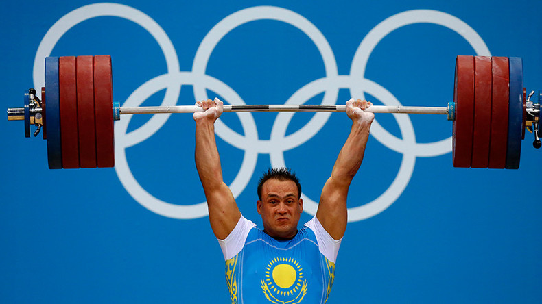 'Our past is being punished': Russia, China banned from weightlifting for 1 year