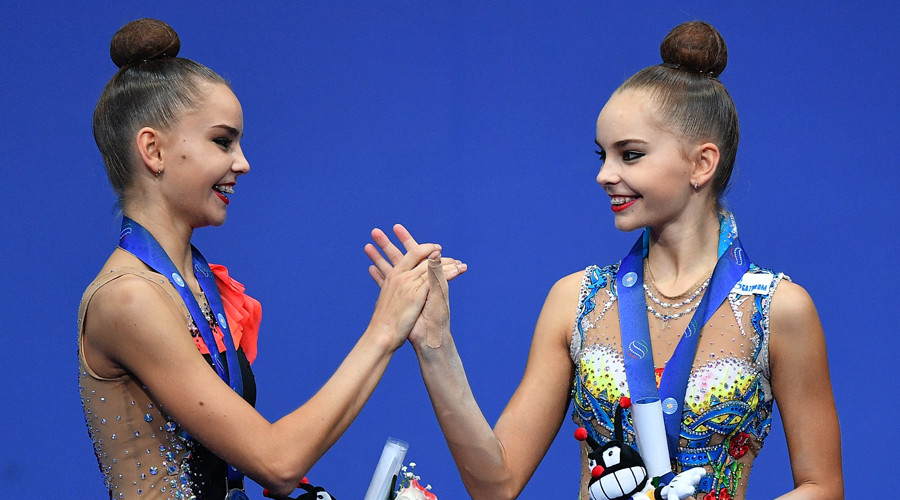 'Friendly rivalry' drives Russian gymnast twins to glory at Rhythmic World Champs