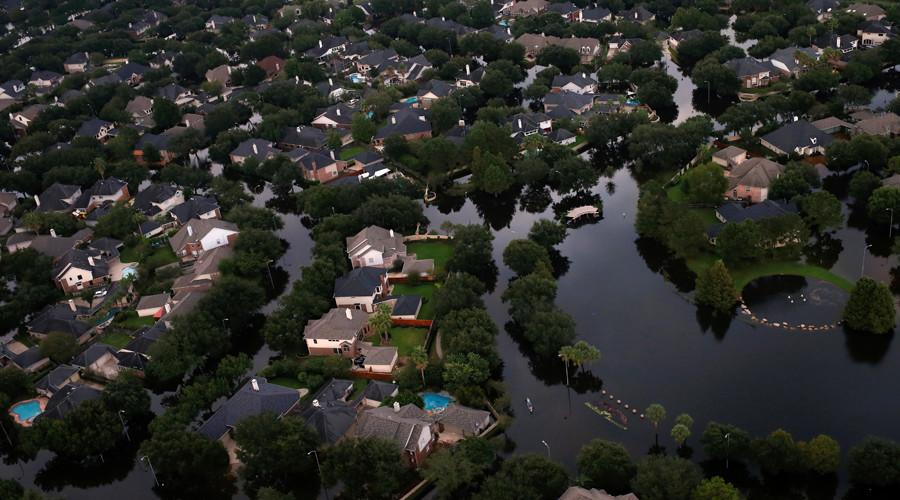 Breathtaking scale of Harvey devastation laid bare in stark Houston satellite images