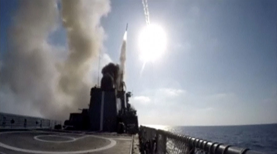Russian frigate fires Kalibr cruise missiles at ISIS targets in Deir ez-Zor - Defense Ministry