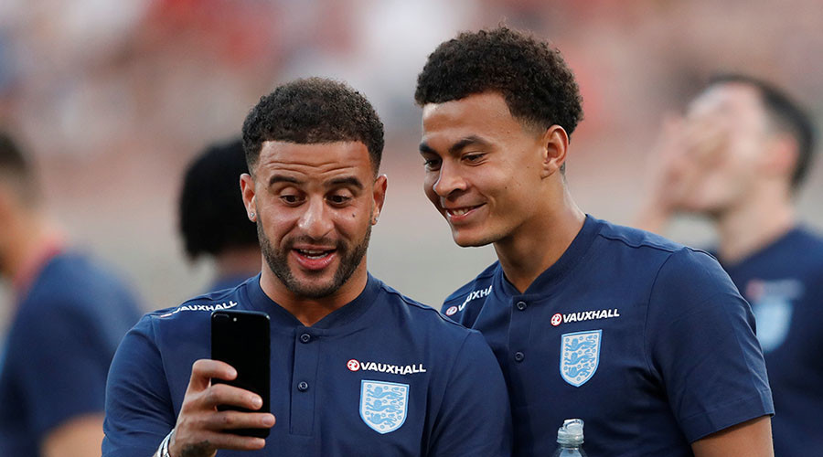 'Strange way of communicating!' England players in bizarre middle finger 'joke'