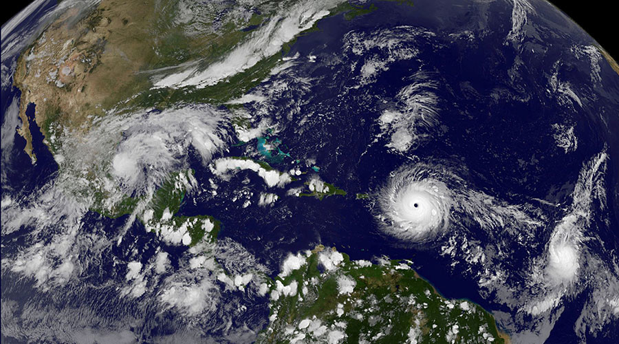 'Potentially catastrophic' Hurricane Irma makes landfall on Caribbean Island