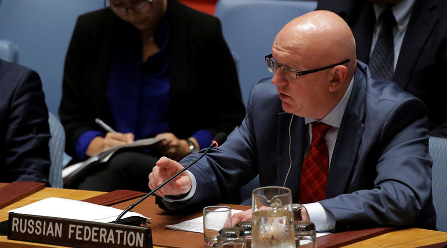 Moscow has become 'very convenient scarecrow' for US – Russia's UN envoy