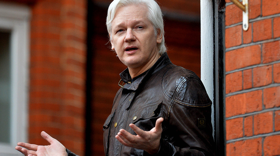 'US taboo': Assange rubbishes climate change denial in hurricane tweet