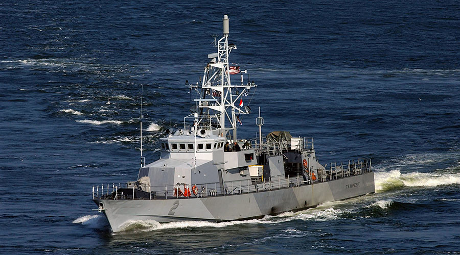 Iran says it turned away US vessel in Persian Gulf