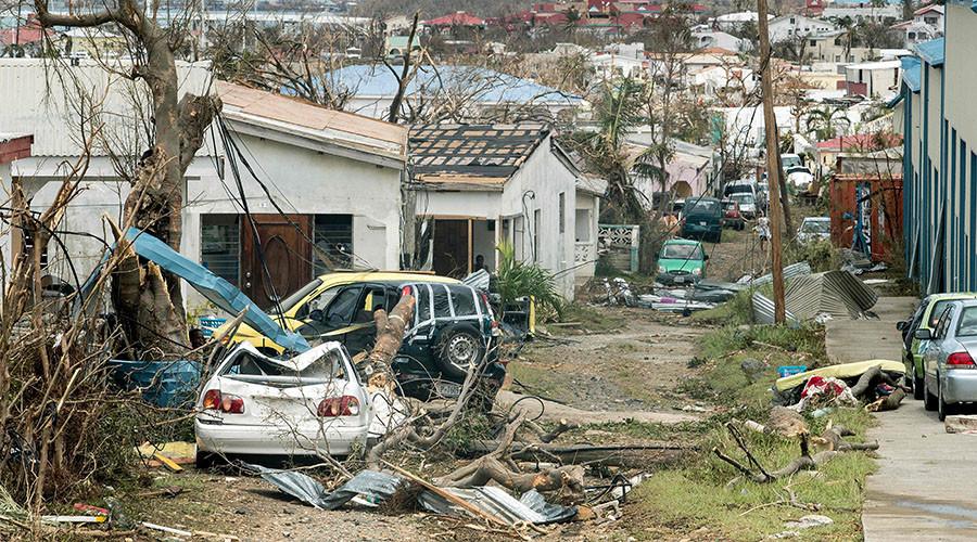 'Fighting for food': Evacuations and looting on Saint Martin following Irma devastation