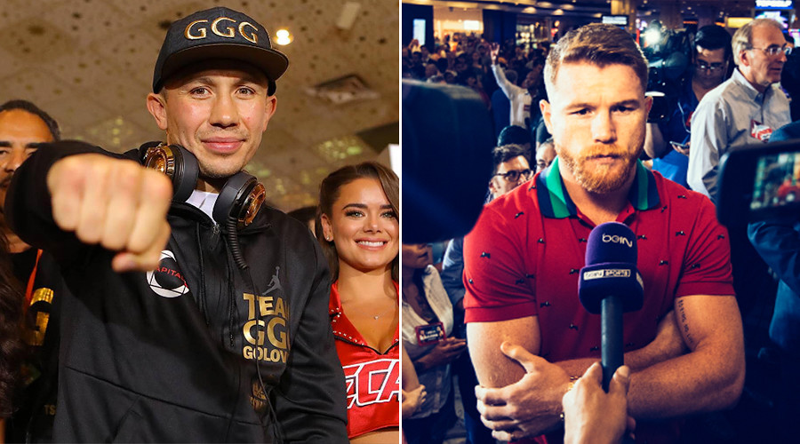 'Big Drama Show': Canelo & GGG arrive in Las Vegas ahead of super fight this weekend