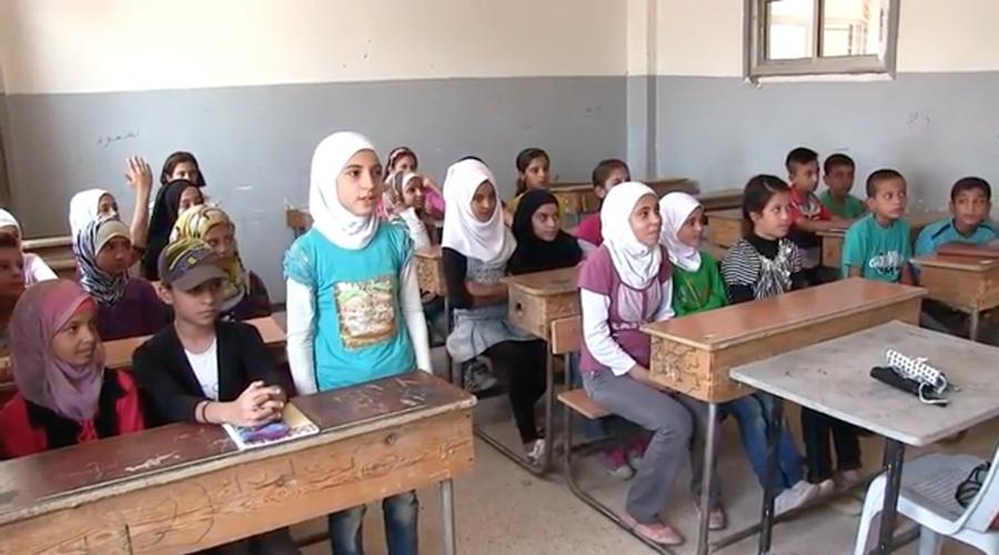 Children of Deir ez-Zor return to school after ISIS siege is breached (VIDEO)