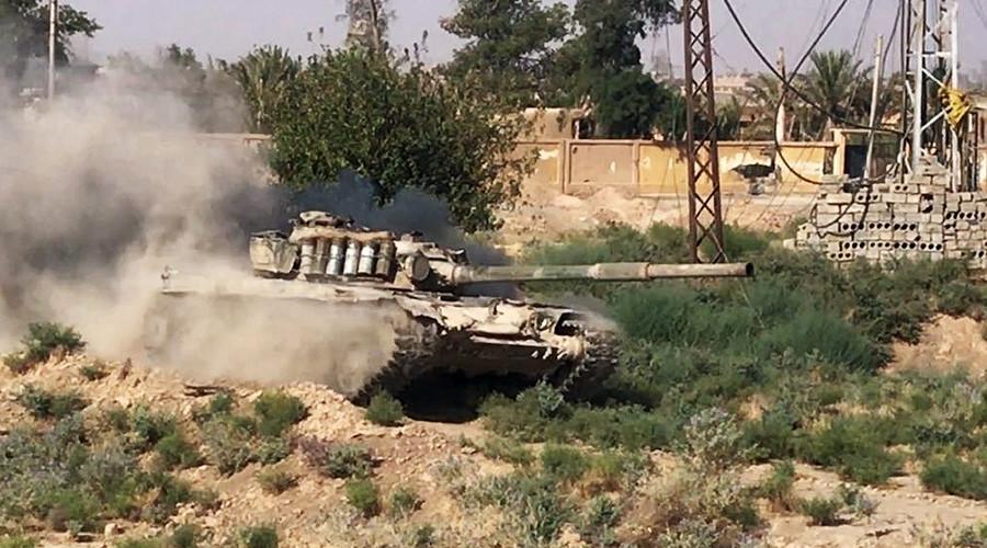 Syrian Army takes control of oilfields & gas refinery near Deir ez-Zor
