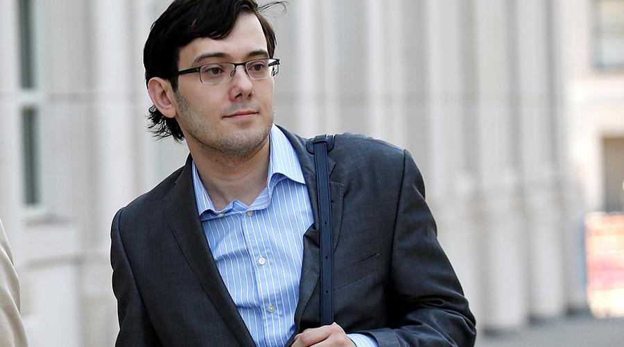 'Pharma Bro' Shkreli sent to jail after offering $5k for Clinton's hair in cloning joke