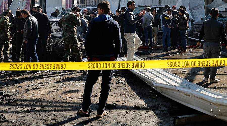 At least 50 killed, over 80 injured in gun & bomb attacks in south Iraq (GRAPHIC VIDEO)