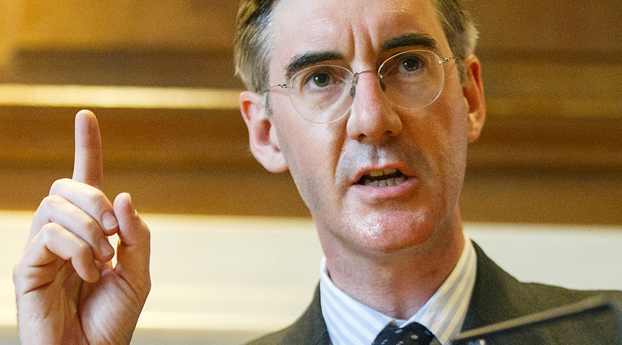 Jacob Rees-Mogg 'deeply regrets' dining with far-right activist recorded in racist rant