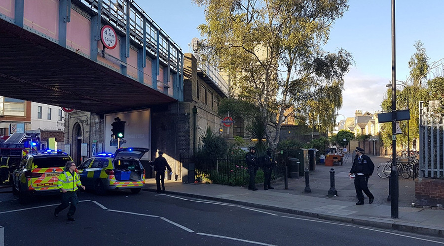 Panic in London: First moments after Parsons Green explosion caught on camera (VIDEOS, PHOTOS)