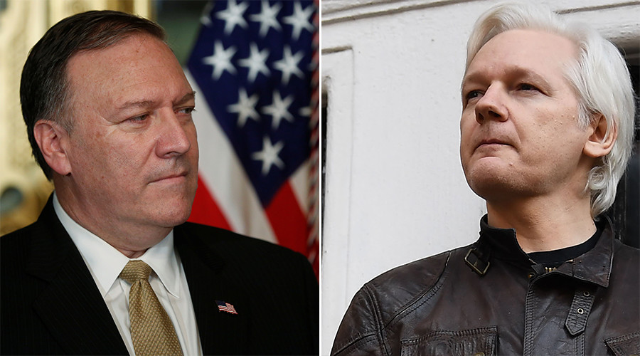 'Assange shouldn't be confident of protecting WikiLeaks sources' - CIA Chief Pompeo