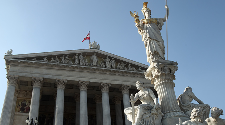 Hitler busts & Nazi paintings found beneath Austrian Parliament