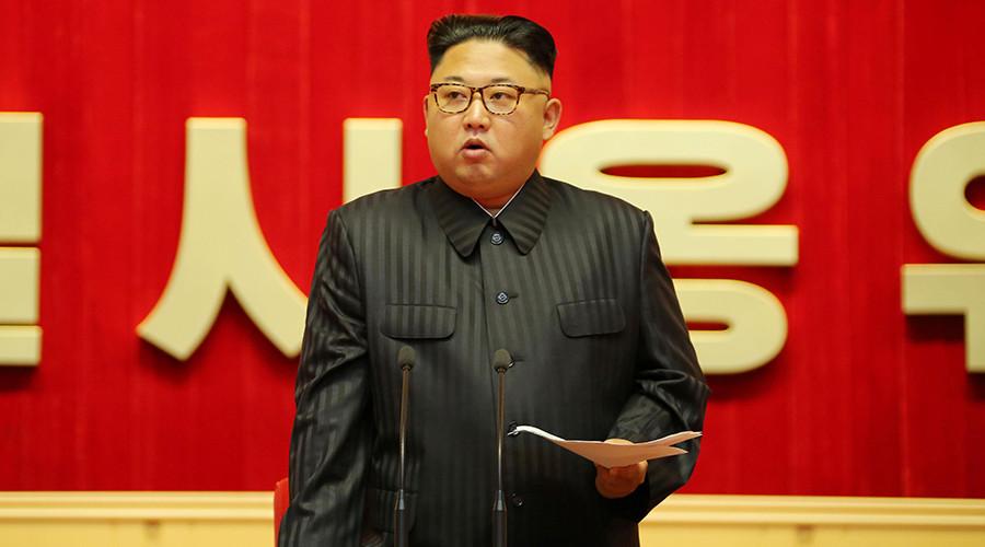 Trump calls Kim Jong-un 'Rocket Man' after call with South Korean leader