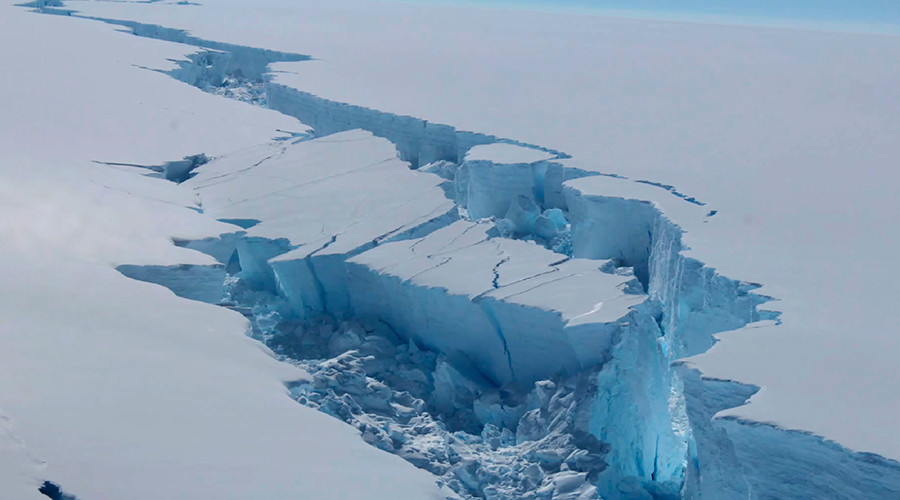 Hidden for 120,000 years: British scientists' mission to lost Antarctic world
