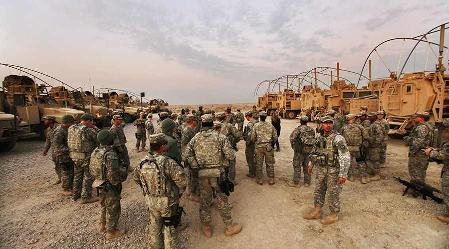 ISIS suicide bombers killed in attack on US-led coalition base in Iraq