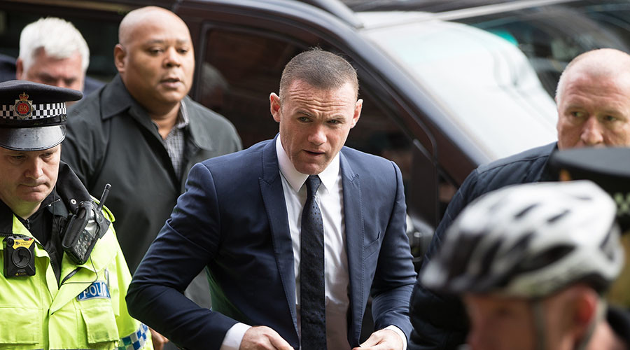 Wayne Rooney gets 2yr driving ban & community order for DUI