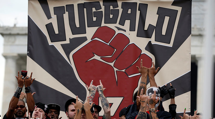 Juggalos march in Washington to protest FBI gang classification (PHOTOS, VIDEO)