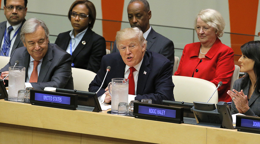 'We need negotiations, not declarations': Russia stays away from Trump's UN reform plan