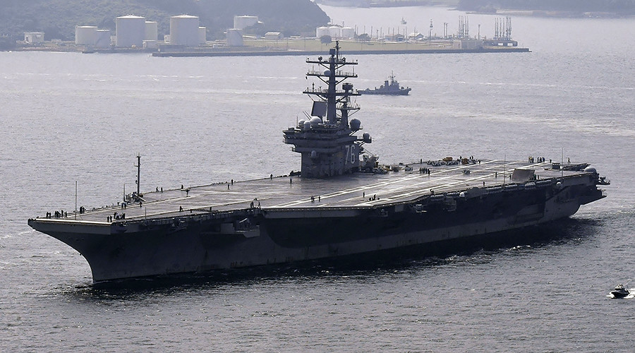 US aircraft carrier group to be dispatched to Korean Peninsula amid rising tensions