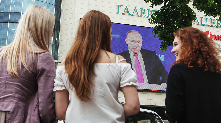 Pollsters trick 1 in 5 Russians into supporting imaginary candidate 'backed by Putin'