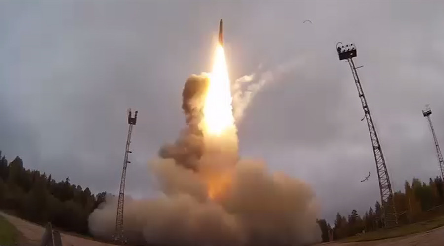 Russia test fires 2nd Yars ICBM in 10 days (VIDEO)