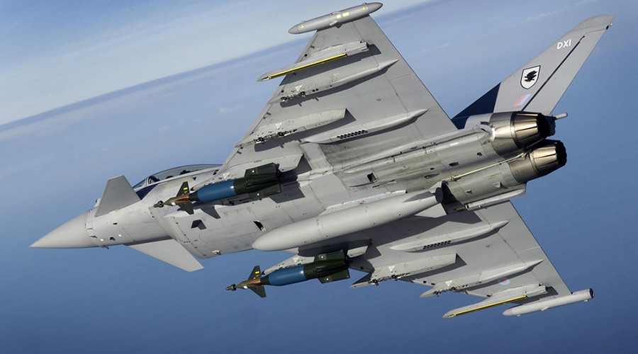 RAF Typhoons scrambled to intercept Russian jets near Scotland in latest standoff