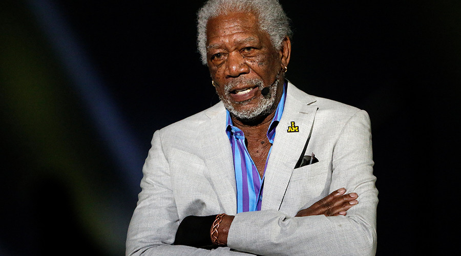 Oh my God, Morgan Freeman declares war on Russia!