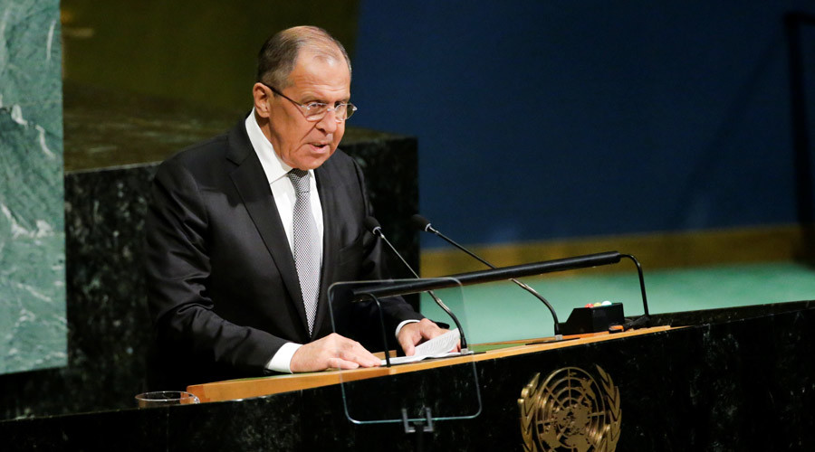 'Lavrov reminded UN a West-inspired coup d'état started Ukraine crisis, not Russia'