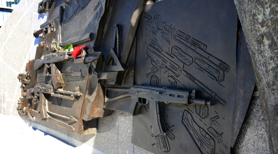 Scandal erupts after blueprint of Nazi rifle found on newest Kalashnikov monument