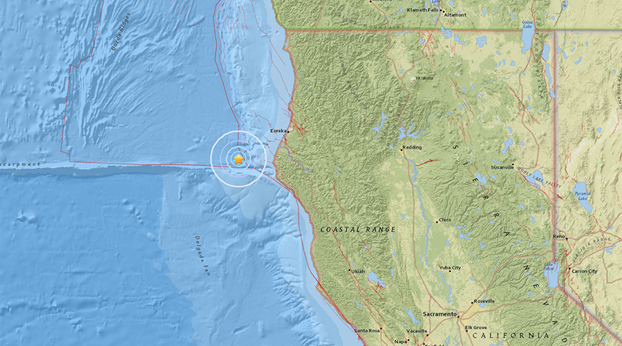 5.7 magnitude earthquake strikes N. California – USGS
