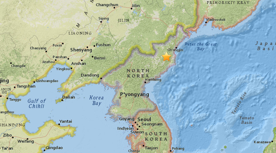 China detects 3.4 N. Korea earthquake, fears of new nuclear test unfounded
