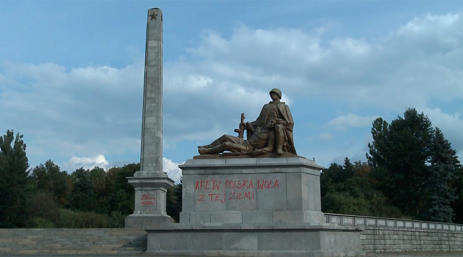 Twice a victim: Poland destroying monuments honoring Soviet soldiers' war sacrifice