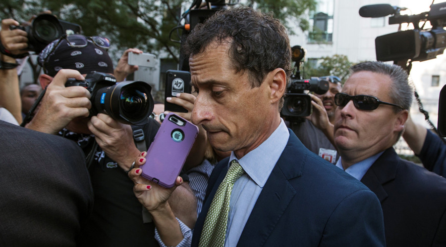 Ex-Rep. Anthony Weiner sentenced to 21 months in jail for sexting with minor