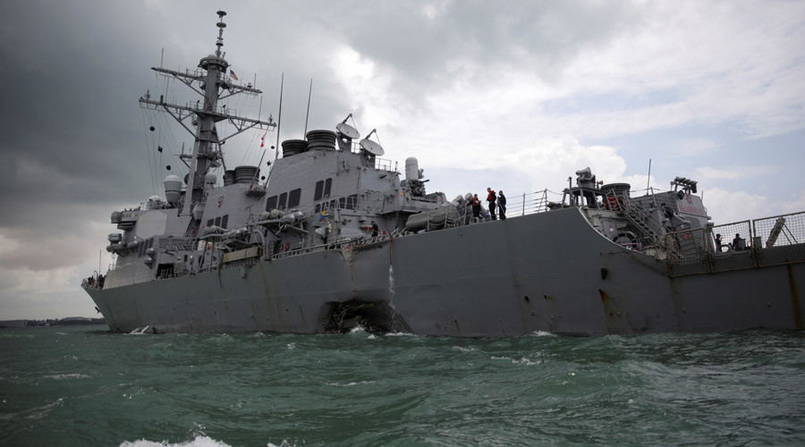 US Pacific Fleet commander announces retirement after Navy ship collisions