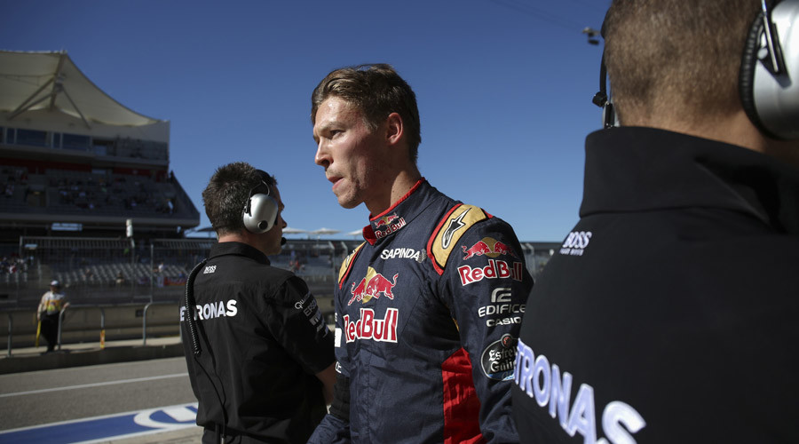 Russian F1 driver Kvyat dropped by Toro Rosso 'for next races'