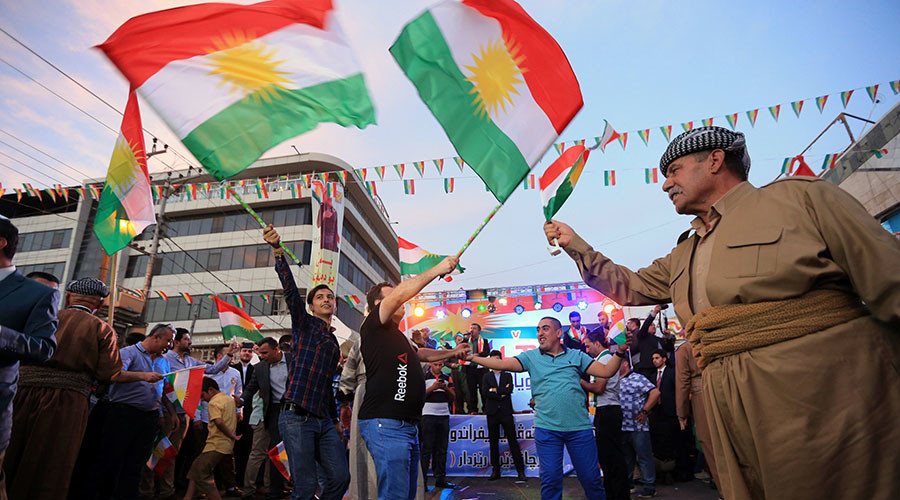 Kurdish leader says 'yes' vote won independence referendum