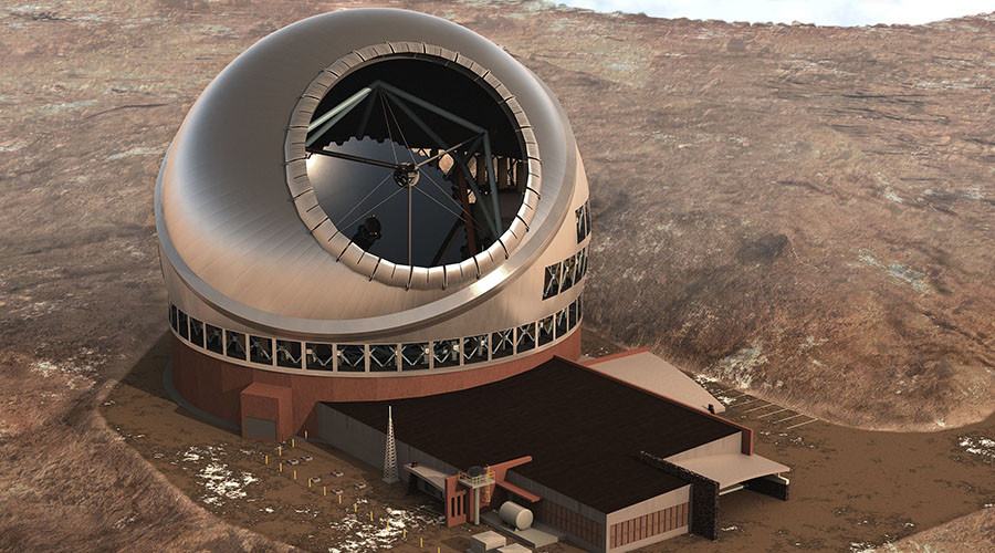 'You failed up there': Hawaii approves $1.4bn telescope despite sacred land protests