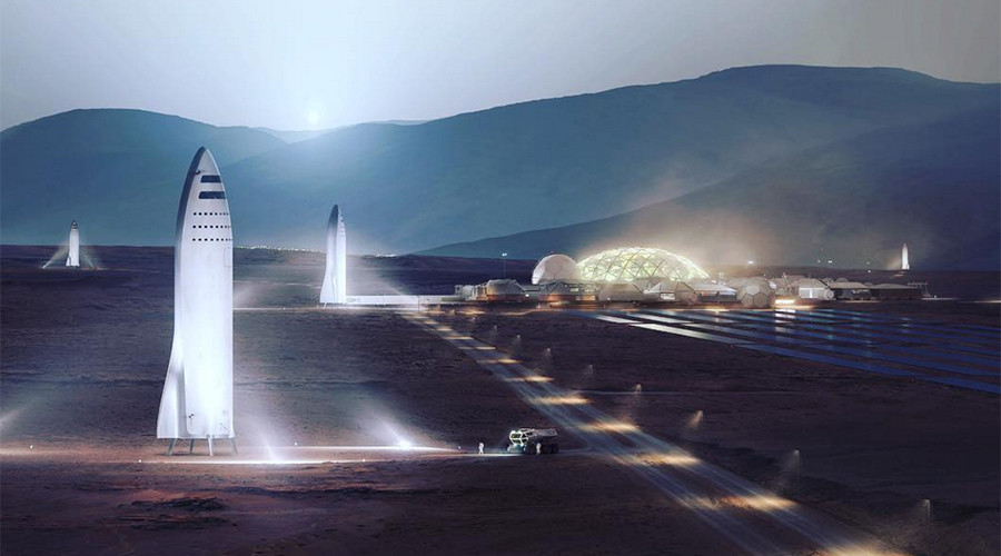 Musk's 'Big F*cking Rocket' will get you 'anywhere on Earth in under an hour' (VIDEOS, PHOTOS)
