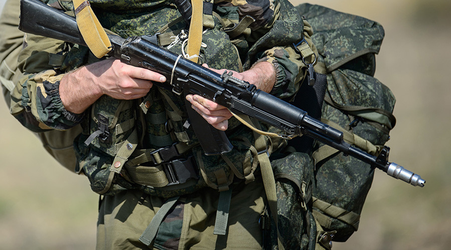 Russian soldier shot dead by anti-terror unit after killing 3 during drill