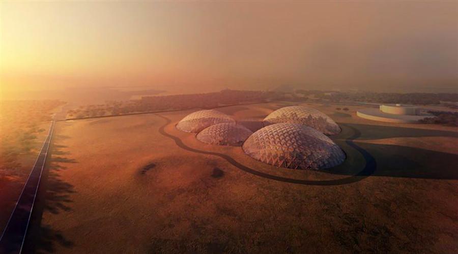 UAE to build $132mn mock 'Martian City' in the desert (PHOTOS)