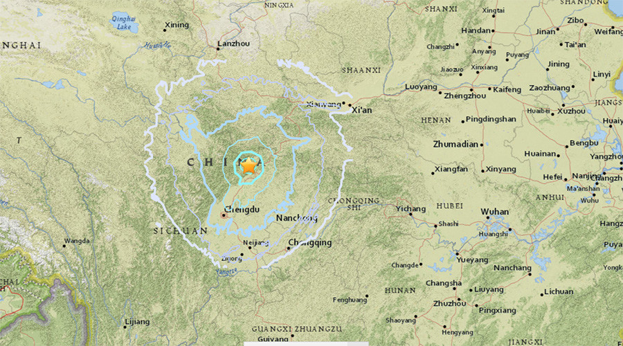5.5 magnitude earthquake strikes China's Sichuan province - USGS
