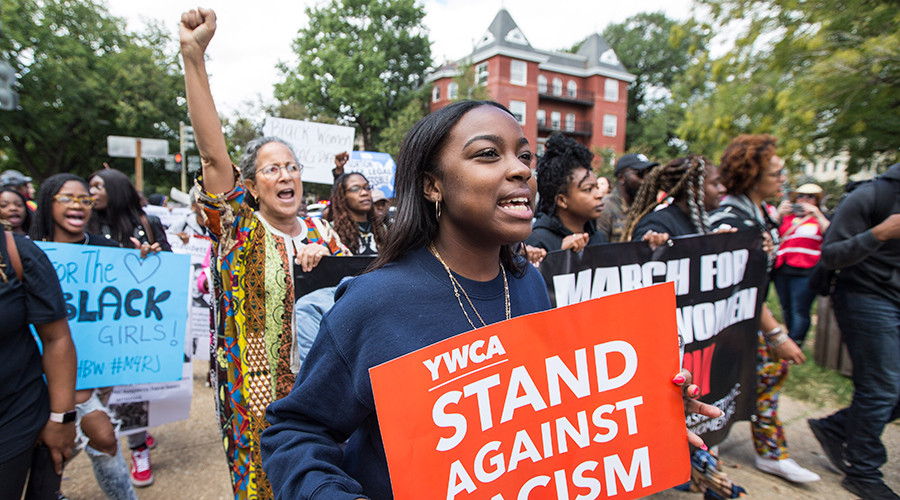 Racial & social justice marchers flood streets of Washington DC (PHOTOS, VIDEOS)