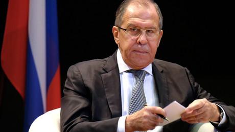 Russian Foreign Minister Sergei Lavrov © Maxim Blinov