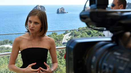 Crimean ex-prosecutor Poklonskaya dismisses reports of presidential ambitions