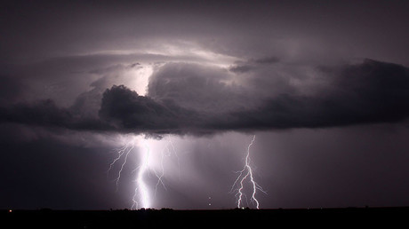 Lightning strikes twice: Thunderstorm rocks hospital again (VIDEO)