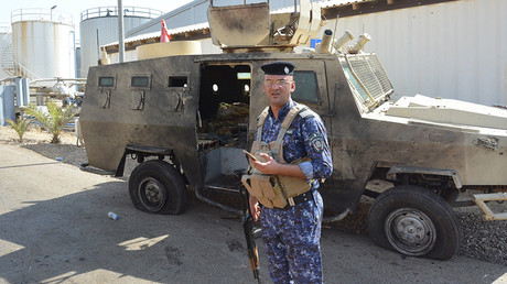 ISIS suicide bombing attack on Iraqi power station kills 7
