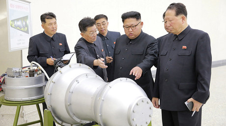 North Korea says it has developed 'advanced hydrogen bomb' that can be fitted on ICBM